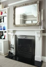 mirror above fireplace home sweet home pinterest mantle