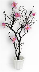 natural manzanita branch centerpiece kit blooms and branches