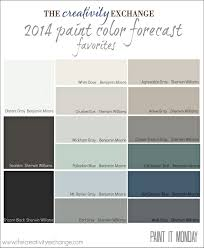 favorites from the paint color forecast it monday creativity