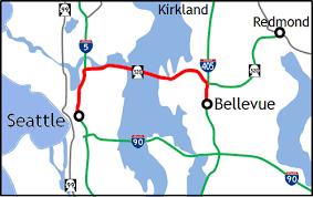 wsdot seattle traffic map wsdot seattle to bellevue on sr 520