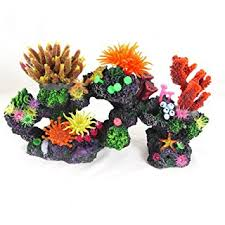 artificial coral rock aquarium fish tank ornament marine