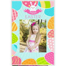 easter photo props colorful easter eggs selfie frame photo booth social media prop