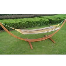 prime garden cotton hammock with stand u0026 reviews wayfair
