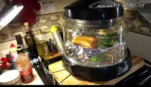 new wave kitchen appliances how to cook on my new wave oven youtube