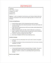 Example Management Resume by 20 Free Resumes Free Sample Example Format Free U0026 Premium