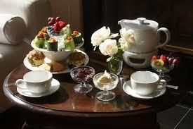 little tea table set organic garden dreams enjoying an english afternoon tea at home