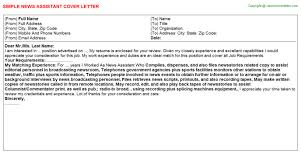 cover letter assistant news assistant cover letter
