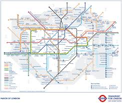 Tube Map London A New London Tube Map Shows Walking Times Between Stations Metalocus