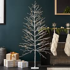 led 7 birch tree crate and barrel