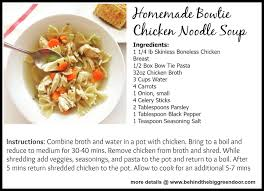 Black Mom Homemade by Behind The Big Green Door Homemade Bow Tie Chicken Noodle Soup