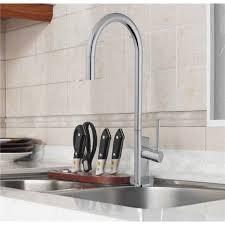 robinetterie evier cuisine robinet mitigeur pour évier de cuisine en laiton chromé douchette