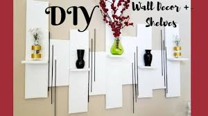 quick decor quick and easy diy wall art mini shelves room decor 0 youtube