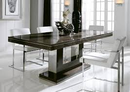 kitchen fabulous round glass top dining table contemporary