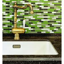 Smart Tiles Muretto Eco  In W X  In H Peel And Stick - Peel and stick wall tile backsplash