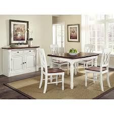 Cheap 5 Piece Dining Room Sets Home Styles Monarch 5 Piece Dining Set White Oak 7203852 Hsn