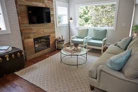 Rustic Chic Living Room by Jonathan Scott Brings A Rustic Chic Look To This Quiet