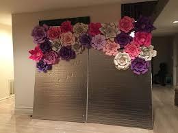 94 best paper flower backdrop images on paper flowers