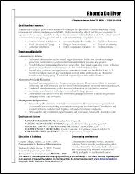 excellent resume exle best administrative assistant resume foodcity me