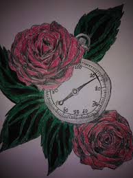 rose stopwatch tattoo by mylittleponygal on deviantart