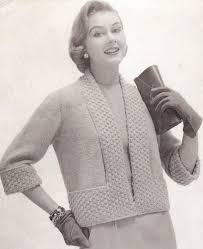 287 best vintage knitting patterns s cardigans images on