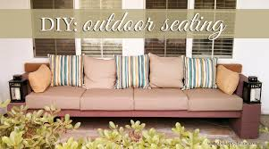 diy outdoor seating be happy u2026 be me
