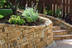 garden walls stone stone inspired dry stone walling garden design and landscaping