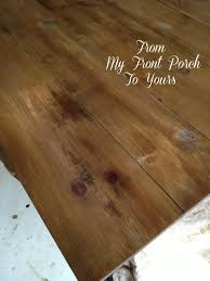 Plank Dining Room Table From My Front Porch To Yours Diy Wood Plank Table Top Reveal