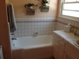 Wainscoting Bathroom Vanity New Bathroom Vanity And Tile Vs Pedestal Sink And Wainscoting