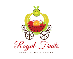 fruit delivery service royal fruits home delivery service designed by dalia brandcrowd
