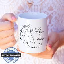 i do what i want u2013 cat u2013 11 oz funny coffee mug u2013 tekoware