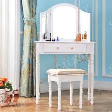 stylish dressing table drawer stool adjustable mirror bedroom