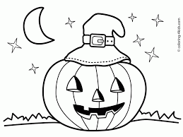 halloween pumpkin coloring pages printables jack o lantern face coloring pages youtuf com