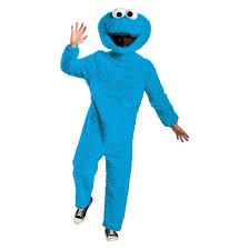 Halloween Costumes Sesame Street Sesame Street Women U0027s Cookie Monster Plush Costume Large Target
