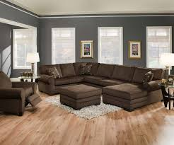 Large Brown Sectional Sofa Living Room Design Home Theater Sectional Sofas Living Room