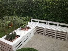 Garden Bench With Planters 15 Recycled Pallet Planter Ideas For A Unique Garden Garden