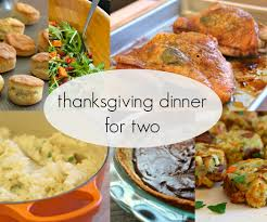 typical thanksgiving menu thanksgiving dinner for two 3 steps with pictures