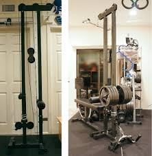 ironmaster super bench cable tower attachment v2 bodybuilding
