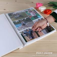 large photo album 12 inches large self adhesive sheets pvc photo album waterproof