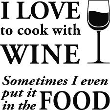 j aime cuisiner stickers muraux citations sticker j aime cuisiner avec du vin