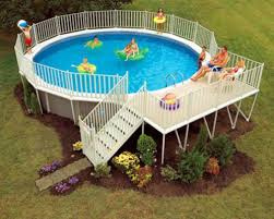 Pool Designs For Backyards Above Ground Swimming Pools Designs Shapes And Sizes