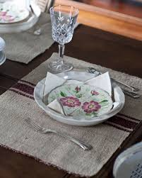 best 25 farmhouse placemats ideas on fall table