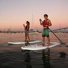 2 pack 10 ft horizon paddleboards w paddles white granite 90749