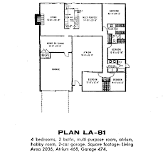 Floor Plan Of A Bedroom Eichler Floor Plans Fairhaven Eichlersocaleichlersocal