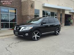 pathfinder nissan black 2013 nissan pathfinder kmc km685 district wheels