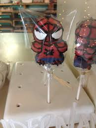 nashville sweets spiderman cake pops