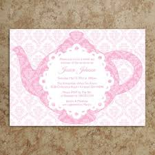 tea party baby shower invitations baby shower invitations