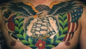 philippines eagle tattoo traditional chest piece daniel herlihy u0027s blog