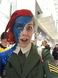 Mystique Halloween Costume Mystique Cosplay Nycc Sheer Brilliance Cosplay