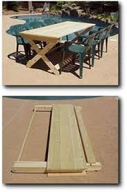 Folding Picnic Table Bench Plans Free by Folding Picnic Table U0026 Bench Cool Stuff Pinterest Folding
