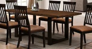table and 6 chairs for sale two tone rustic amber and charcoal dining table and 6 chairs